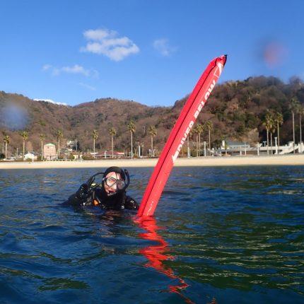 オープンウォーターダイバーコース海洋実習1日目☆
